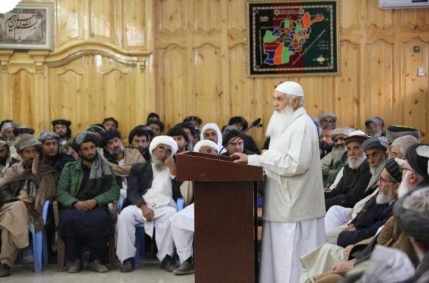 دیدار امیرمحمد اسماعیل خان، رهبر جهادی غرب کشور با فرماندهان جهادی