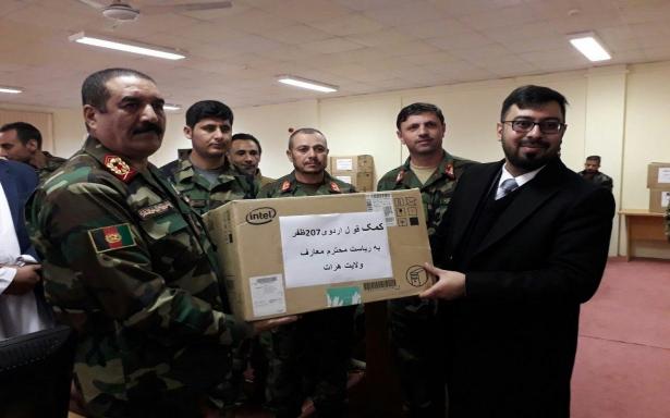 ارتش به داد معارف هرات رسید