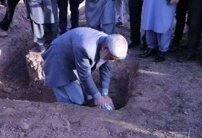 سنگ تهداب نخستین انستیتوت زعفران افغانستان در هرات گذاشته شد
