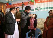 در فراه؛ ۲۰۸۳۲۰ طفل واکسین پولیو میشوند