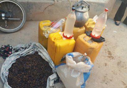 نابودی یک کارخانه مشروبات الکلی در هرات