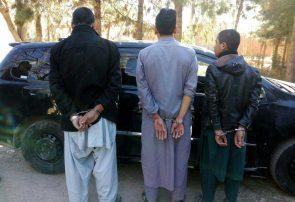 بازداشت سه سارق در هرات