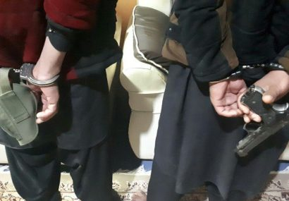 بازداشت دو سارق مسلح در هرات