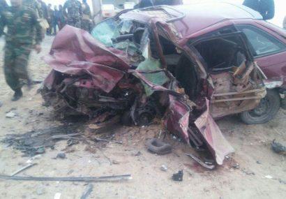 حادثه ترافیکی در هرات جان پنج تن را گرفت