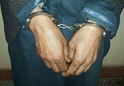 یک قاچاقبر حرفوی به دام پولیس هرات افتاد