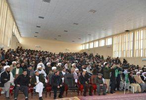 همایش صلحخواهی در غور/جنگ از معیارهای اسلامی و انسانی بیرون شده