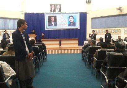برگزاری همایش تقدیر از نیروهای امنیتی در هرات/وارثان شهدای این نیروها شکایت دارند
