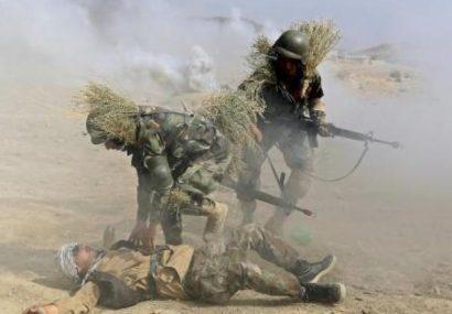 ارتش در بادغیس ۱۶ کشته و ۲۰ زخمی داده است