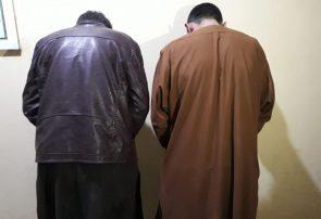 پولیس هرات دو مرد مسلح را دستگیر کرد