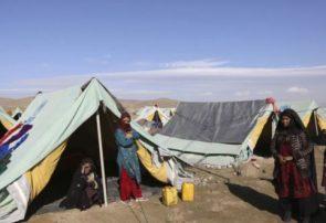 برای ۷ هزار مهاجر داخلی در بادغیس کمپ ایجاد شد