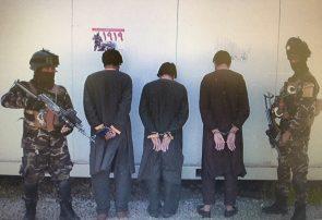 امنیت ملی هرات سه تن را هنگام آدم ربایی بازداشت کرد