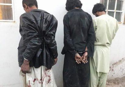 سه فرد مسلح به چنگ پولیس هرات افتادند