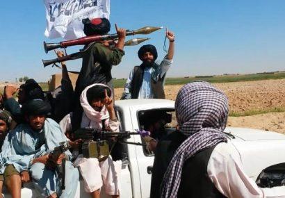 طالبان به مردم پسابند غور قطرهچکانی غذا میدهند