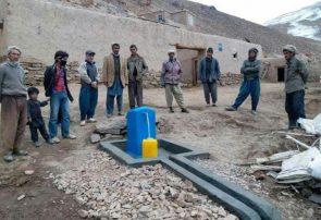 بهرهبرداری از ۱۷ پروژه آبرسانی در غور/۸۵۷ فامیل به آب صحی دسترسی پیدا کردهاند