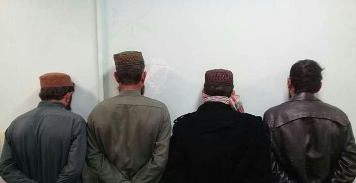 بازداشت چهار تروریست توسط پولیس نیمروز