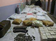 پولیس نیمروز مانع قاچاق ۷۵ کیلوگرام مواد مخدر به ایران شد