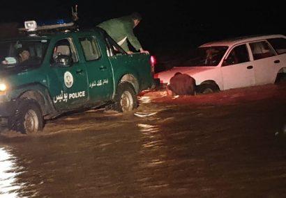 اعلان وضعیت اضطراری در هرات/تمام ولایت هرات زیر آب است