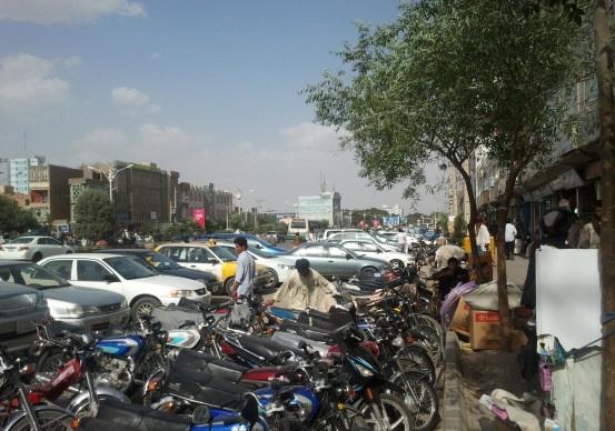 شهرداری هرات پارکینگهای خودسر ایجاد شده را جمع میکند