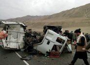حادثه ترافیکی در اسلام قلعه هرات ۹ نفر را راهی شفاخانه کرد