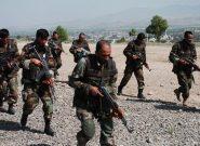 دهها نیروی تازه نفس برای سرکوب طالبان وارد ولسوالی مقر بادغیس شدند