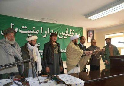 گروهی از طالبان غور به دولت پیوستند