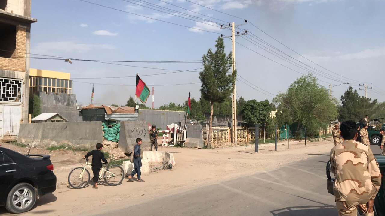 حمله انفجاری در داخل ریاست امنیت ملی هرات/سه کشته و پنج زخمی