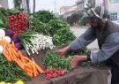 هرات و سفره رنگین میوه و سبزیجات بهاری