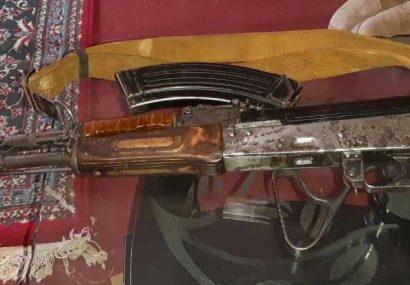 حمل سلاح دو تن را به بازداشتگاه پولیس هرات کشاند
