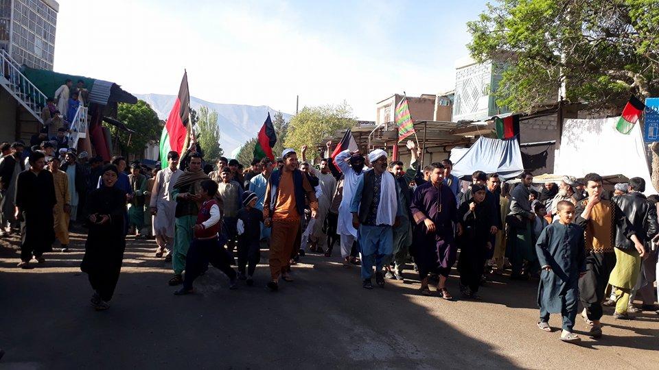 اعتراض در اعتراض/قضیه سرک هرات – چشت جنجالی شد