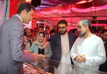 نمایشگاه کاروان راه لاجورد در هرات به راه افتاد