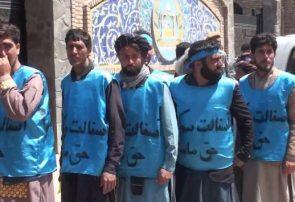 صد کیلومتر پیاده روی در اعتراض به بدقولی اداره محلی هرات