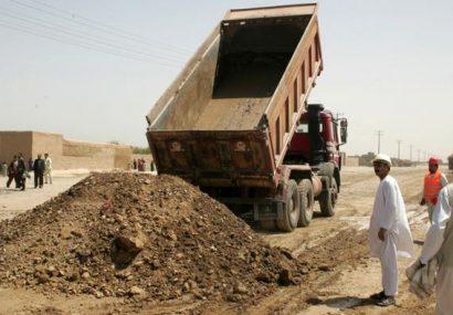 مسئولان شرکتهای سازنده جاده حلقوی در بادغیس بازخواست شدند