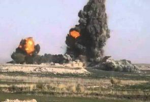 بمباران هوایی در فراه، شش کشته و چهار زخمی از طالبان گرفت