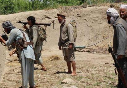 حمله مرگبار طالبان جان ۱۰ نیروی خیزش مردمی غور را گرفت