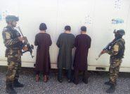 امنیت ملی هرات سه راننده موتر باربری را دستگیر کرد