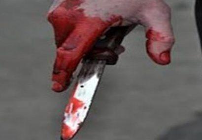 پولیس فراه قاتل چاقو به دست را دستبند زد