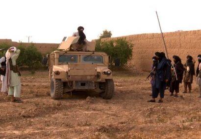 طالبان از بالامرغاب بادغیس رد شدنی نیستند/ ساختمان ولسوالی و فرماندهی پولیس را باز سقوط دادند