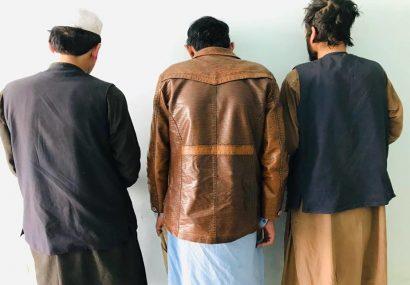 پولیس فراه دو سارق و یک تروریست حرفهای را به دام انداخت