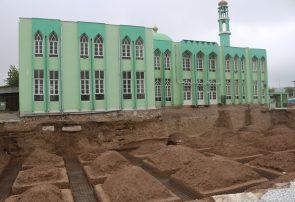 مردم از توقف کار مسجد جامع قلعه نو بادغیس شکایت دارند