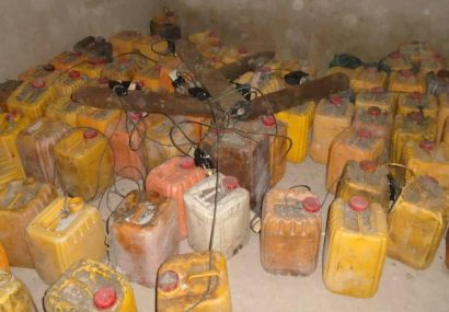 در حمله هوایی مقدار زیادی مواد انفجاری طالبان فراه از بین رفت