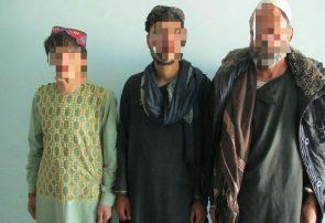 پولیس هرات سه قاچاقچی تریاک را دستبند زد