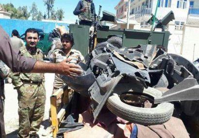 پولیس فراه یک مخفیگاه سارقان را کشف و از انفجاری نیرومند جلوگیری کرد