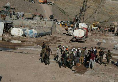 ۴۵ درصد از کار ساخت بند پاشدان هرات اجرا شده است