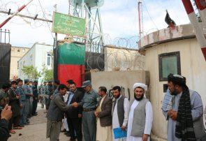 زندان مرکزی بادغیس ۲۵ زندانی را آزاد کرد
