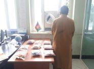 یک قاچاقبر مواد مخدر به دام پولیس هرات افتاد