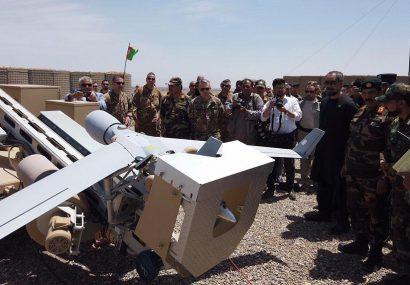 ارتش غرب کشور به هواپیماهای بدون سرنشین مجهز شد
