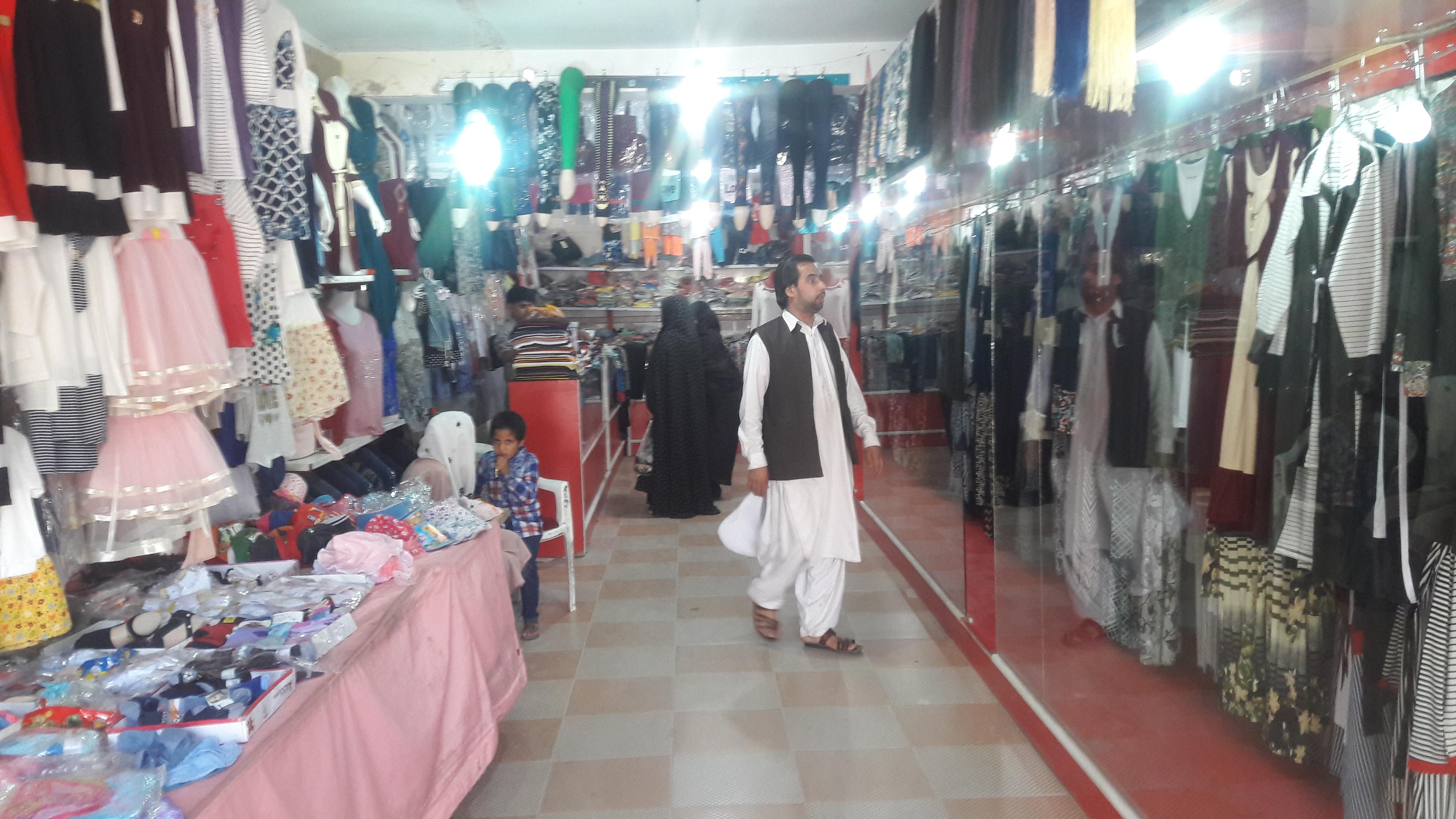 خریدهای عیدی به شهر هرات جنب و جوش عیدی بخشیده است