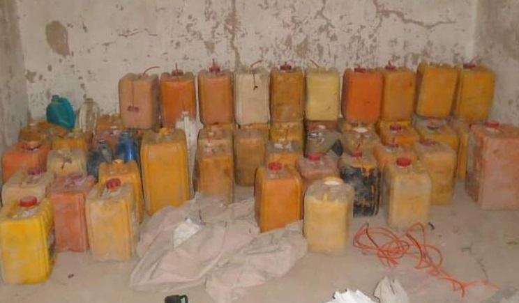 نیروهای امنیتی هرات یک انبار ساخت مواد انفجاری را منهدم کردند
