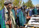۳۰ تن از مخالفان مسلح دولت در فراه با حکومت آشتی کردند