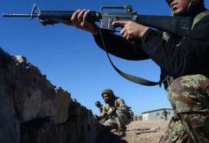 حمله جنگجویان گروه ضرقاوی به پاسگاه ارتش در شهر فراه ناکام ماند
